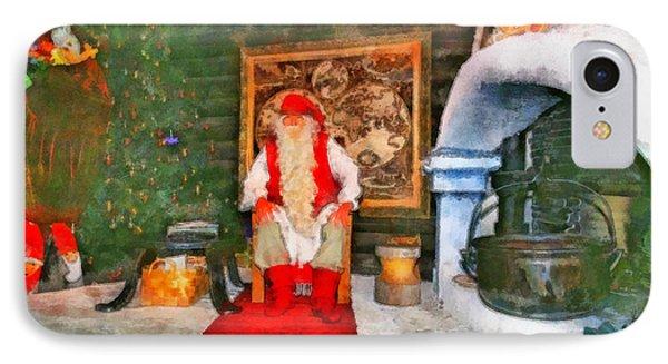 Santa Claus Phone Case by George Rossidis