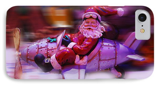 Santa Claus Is Coming To Town IPhone Case by Gina Dsgn