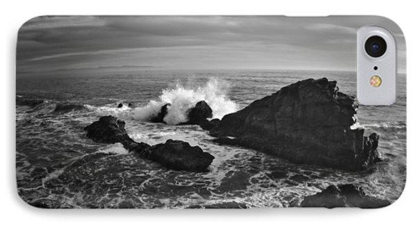 Santa Cruz Coastline IPhone Case by Richard Cheski