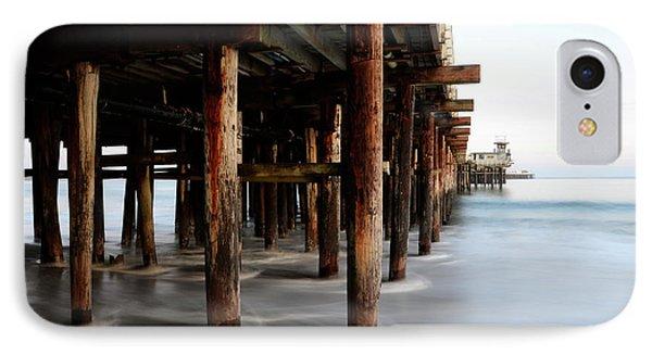 Santa Cruz Pier California IPhone Case by Bob Christopher