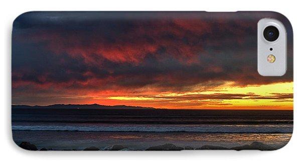 Santa Cruz Rocks IPhone Case by Michael Gordon