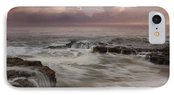 Santa Cruz Sunset IPhone Case by Keith Kapple