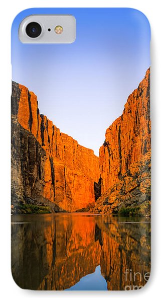 Santa Elena Canyon IPhone Case by Inge Johnsson