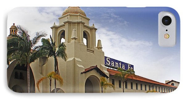 Santa Fe Depot IPhone Case by Photographic Art by Russel Ray Photos