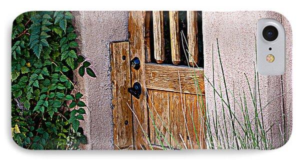 Santa Fe Gate IPhone Case by Patrice Zinck