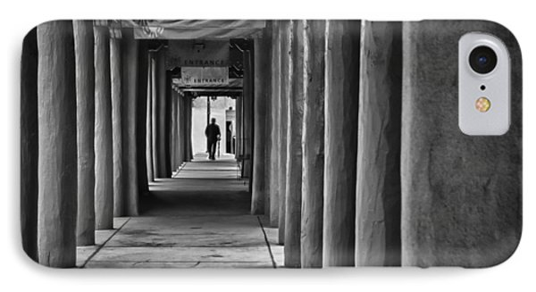 IPhone Case featuring the photograph Santa Fe New Mexico Walkway by Ron White