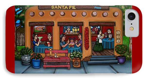Santa Fe Restaurant IPhone Case