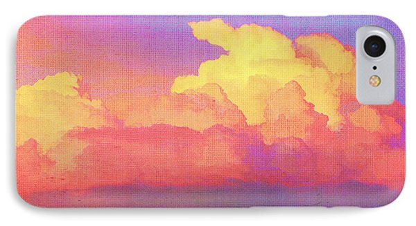 Santa Fe Sunset IPhone Case