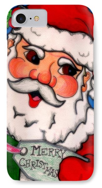 Santa  IPhone Case by Jame Hayes