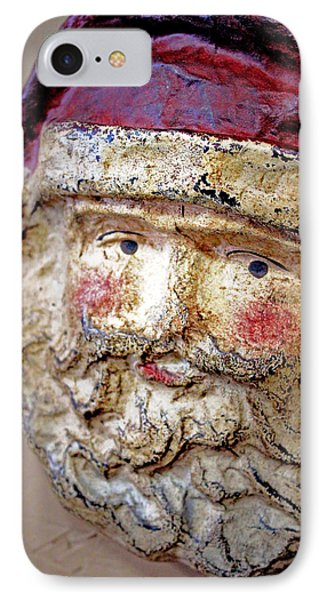 Santa IPhone Case by Lynn Sprowl