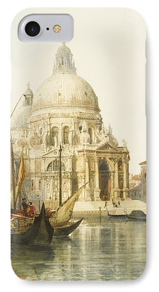 Santa Maria Della Salute IPhone Case by Jacques Guiaud