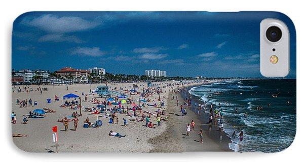 Santa Monica Beach IPhone Case by Joe Scott