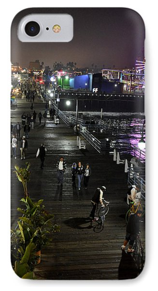 IPhone Case featuring the photograph Santa Monica by Gandz Photography