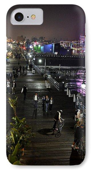 Santa Monica IPhone Case by Gandz Photography