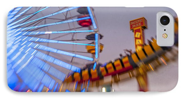 Now I Know It Was A Dream Santa Monica Ferris Wheel IPhone Case