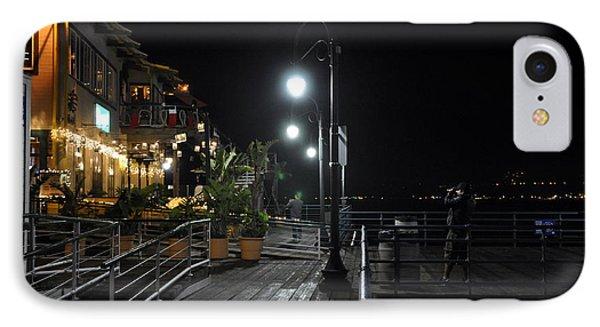 Santa Monica Pier IPhone Case by Gandz Photography