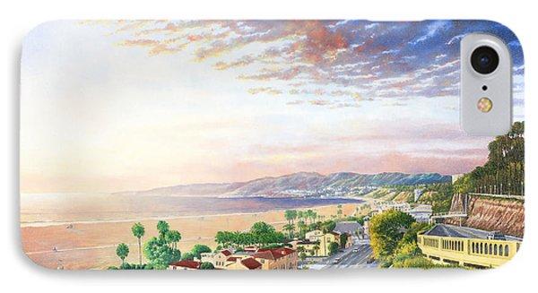 Santa Monica View North IPhone Case by Douglas Castleman
