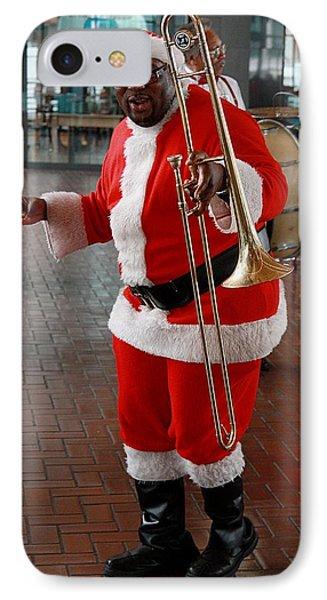 Santa New Orleans Style Phone Case by Joe Kozlowski