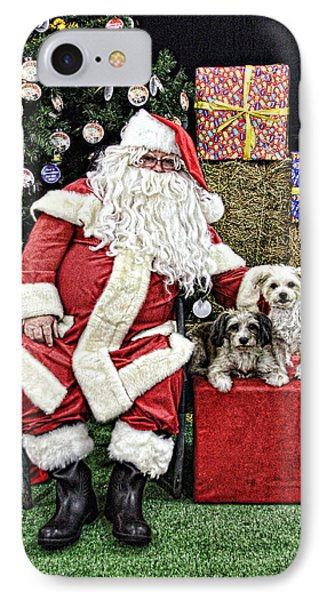 Santa Paws  Phone Case by Helen Akerstrom Photography