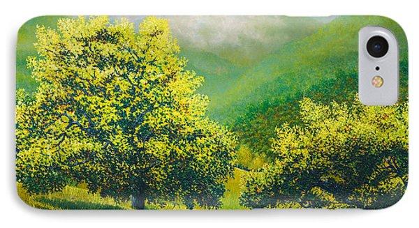 Santa Ynez Hills IPhone Case by Douglas Castleman