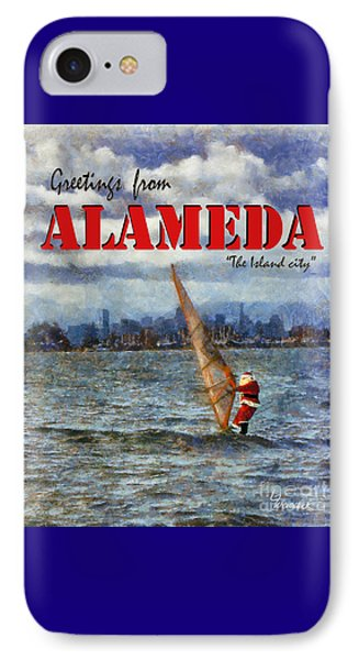 Alameda Santa's Greetings IPhone Case