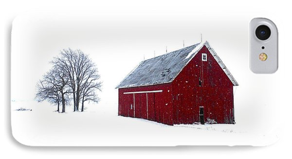 Santa's Barn IPhone Case by Tim Good