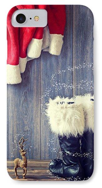 Santa's Boots IPhone Case