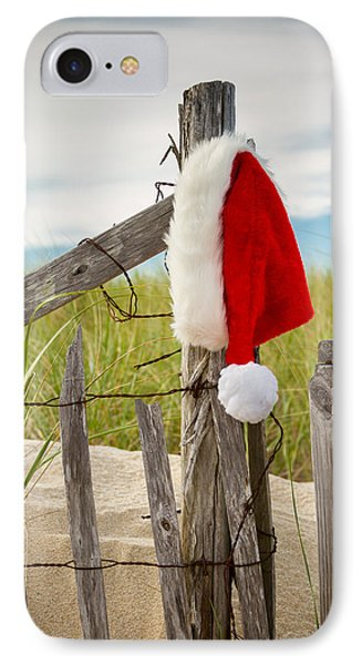 Santa's Downtime IPhone Case by Brian Caldwell