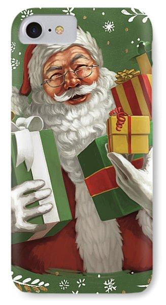 Santas List Iv Crop IPhone Case by Janelle Penner