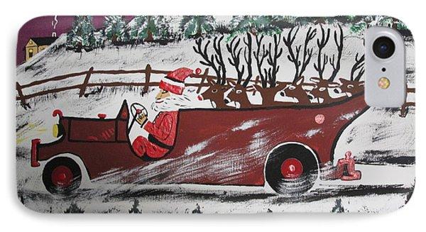 Santa's Truckload Phone Case by Jeffrey Koss