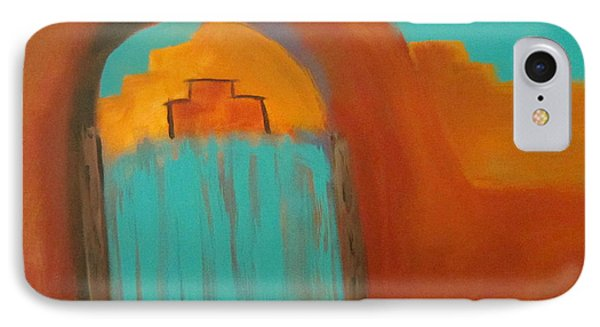 IPhone Case featuring the painting Sante Fe by Keith Thue