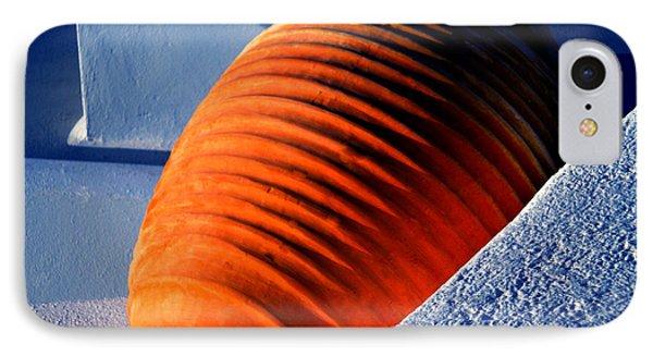 IPhone Case featuring the photograph Santorini  Ceramics Pot Greece by Colette V Hera  Guggenheim