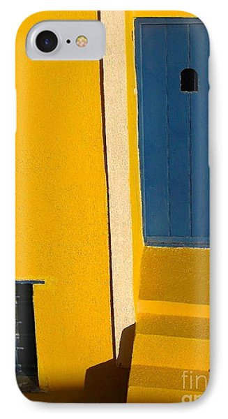 Santorini Doorway IPhone Case