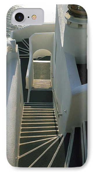 IPhone Case featuring the photograph Santorini Stairs by Colette V Hera  Guggenheim