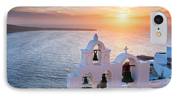 Santorini Sunset IPhone Case by Evgeni Dinev