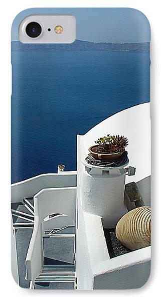 Santorini Welcome IPhone Case