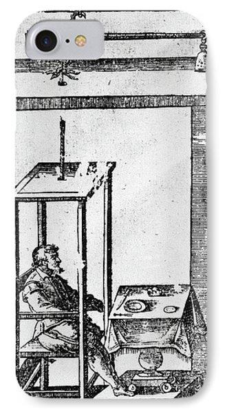 Santorio Santorio (1561-1636) IPhone Case by Granger