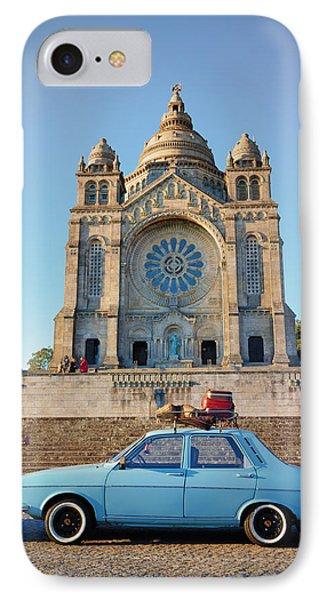 Santuario Do Sagrado Coracao De Jesus IPhone Case by Pablo Lopez