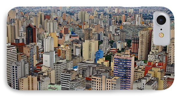 IPhone Case featuring the photograph Sao Paulo by Henry Kowalski