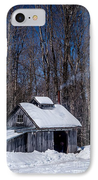Sap House II IPhone Case by Alana Ranney
