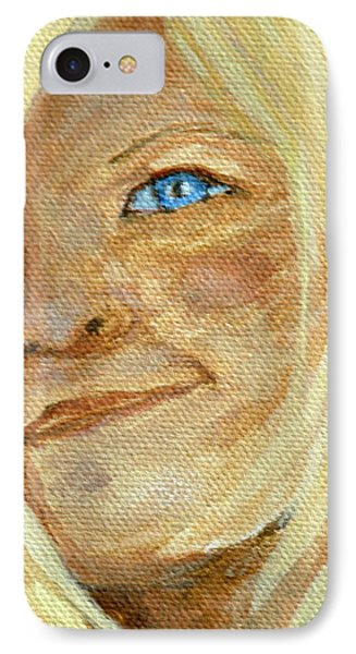 IPhone Case featuring the drawing Sarah by Joseph Hawkins