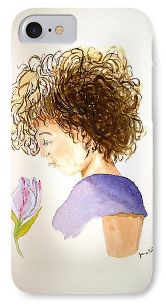 IPhone Case featuring the painting Sarah by June Holwell