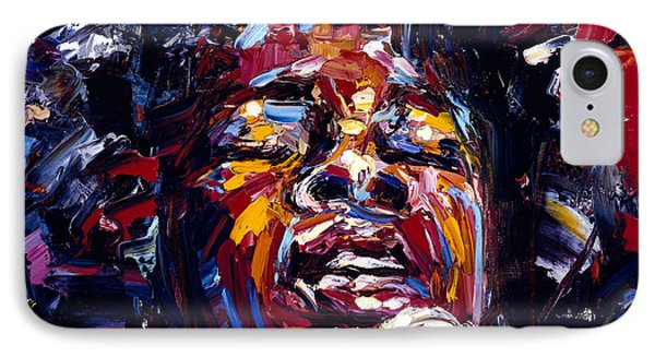 Sarah Vaughan Jazz Face Series Phone Case by Debra Hurd