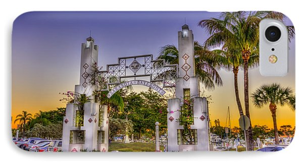 Sarasota Bayfront IPhone Case by Marvin Spates