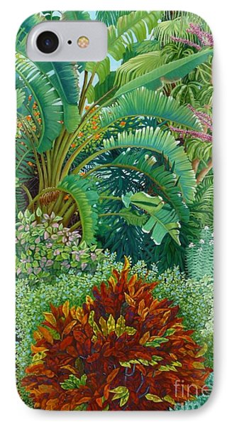 Sarasota Garden Phone Case by Beverly Theriault