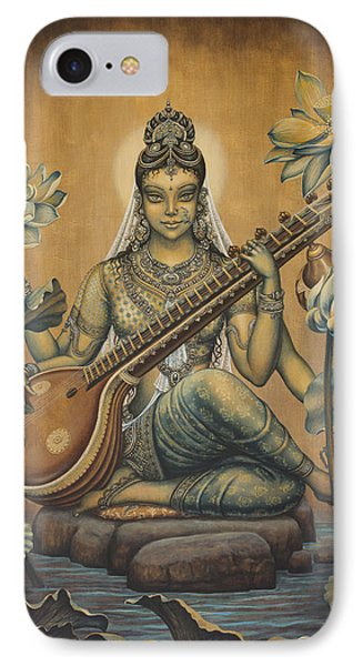 Sarasvati Shakti IPhone Case