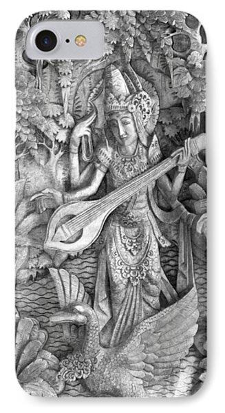 Saraswati - Supreme Goddess IPhone Case