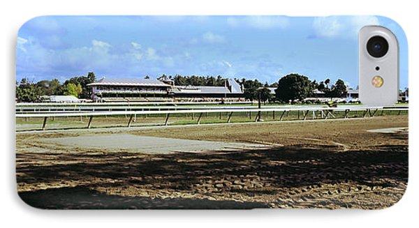 Saratoga Racecourse At Saratoga IPhone Case