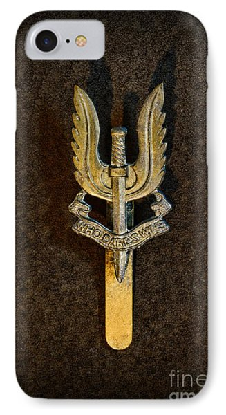 Sas - Special Air Service - Who Dares Wins Phone Case by Paul Ward