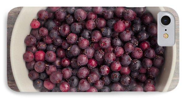 Saskatoon Berries IPhone Case by Priska Wettstein